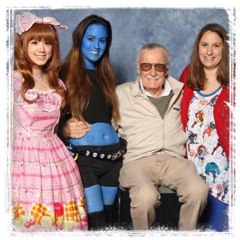 Stan lee dallas comiccon fan expo 2016